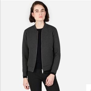 Everlane Street Fleece Bomber Jacket